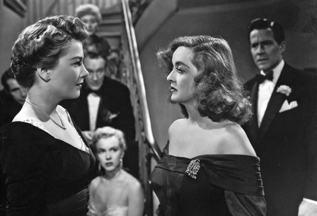 All About Eve (1950)- can you identify the young starlet in the background? Image: 20th Century Fox