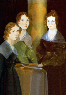 220px-Painting_of_Brontë_sisters