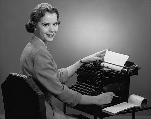 vintage-secretary